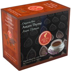 Черный чай в пакетиках на чайник Julius Meinl Assam Thyme (Ассам с чабрецом), 20шт.×4гр.
