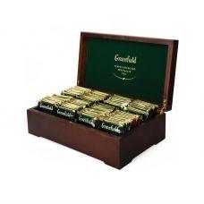 Подарочный набор чая Greenfield в деревянной шкатулке (8 видов), 177,6г