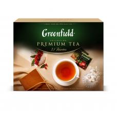 """Набор Greenfield """"Коллекция изысканного чая и чайных напитков"""" 30 видов, 120 пакетиков."""