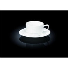 Чайная пара 220 мл. штабелируемая Wilmax (Англия) art. 993008
