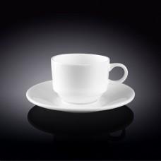 Кофейная пара штабелируемая 140 мл. Wilmax (Англия) art. 993039