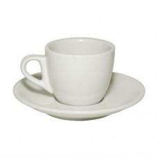 Кофейная пара 85 мл. слоновая кость (LQ-QC0032A/SA), art. 0185фк