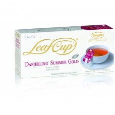 Черный чай в саше на чашку Ronnefeldt LeafCup Organic Darjeeling Summer Gold (Дарджилинг Саммер Голд), 15шт.х2,5г.