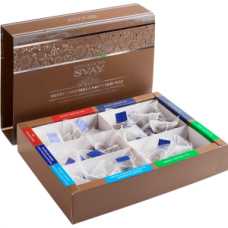 Подарочный набор чая Svay ELITE COLLECTION MERRY CHRISTMAS & HAPPY NEW YEAR, 40 пирамидок
