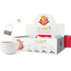 Чай цветочный каркаде с ароматом клубники и малины TeaJoy's 100х1,5г