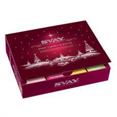 Подарочный набор чая Svay Berry Variety in winter, 48 пирамидок