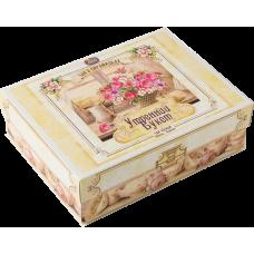 Шкатулка «Утренний букет» ваниль-клюква JARRA, 40 пирамидок