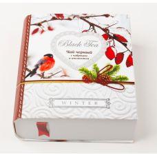 """Подарочный чай Книга """"Зима"""""""