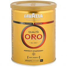 Кофе молотый Lavazza Oro, 250г, ж/б