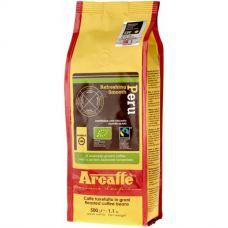 Кофе в зернах Arcaffe Peru FTO, 500г, вакуумная упаковка