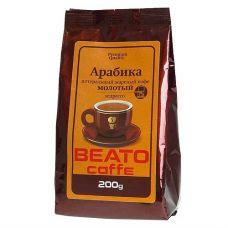 Кофе молотый Beato эспрессо, 200г.