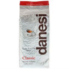 Кофе в зернах Danesi Classic, 1кг, вакуумная упаковка