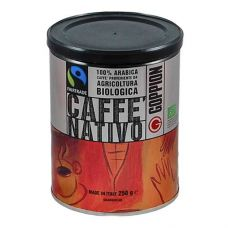Кофе в зернах Goppion Nativo (Гоппион Нативо),  250 гр., металлическая банка